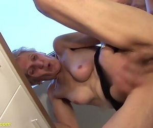 83 years old mother brutal bitchy by stepson 12 min
