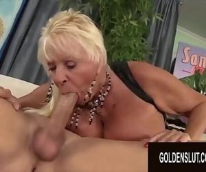 Golden SlutOlder Ladies Showcase off Their Dick Sucking..