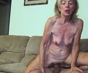 81 Years old Mother Banged by Stepson