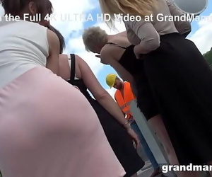 Builder Working of the Largest Granny Project 10 min 720p