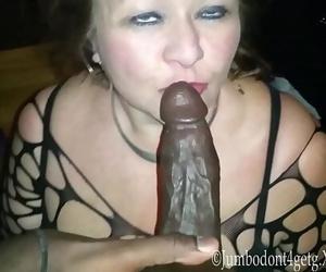 Granny The Big black cock Cumdump 4 min 1080p