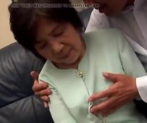Asian Granny Deepthroat Cock 2