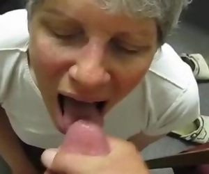 Best Granny Jizz in Mouth Comp ever