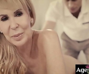 Warm masseur Michael Vegas is prepared to give her extra..