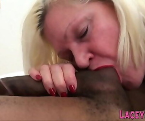 Grandmother plowed by bbc