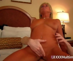 Mummy mom blackmailed and bitchy by youthfull son payton..
