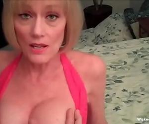 Pounding Grandmas Vagina With Interest