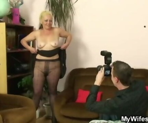 Wild Mother Gets Shagged after Photosession
