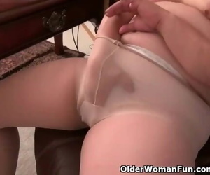 Wonderful things Happen when she is alone at the Office