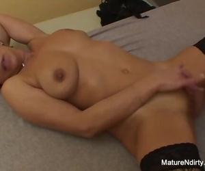 Confused Ash-blonde Granny Gets some Sexual Assistance