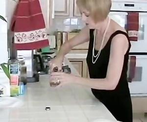 Grandmother with Violating Homemade Blowjob