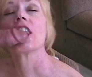 Lost in Unexperienced Grannys Orgasm