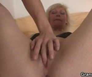 Mature Ash-blonde Takes it from behind
