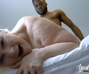 AgedLovE Lacey Starr Gonzo Interracial Tart's