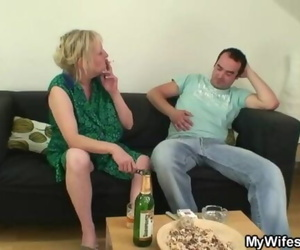 I just Fucked my Mom Inlaw but Wife Finds Out!