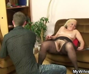 She Finds Wild Vag with him and her Mother