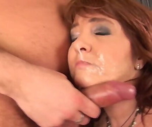 Redhead Plump Matures very first Big Hard-on Hookup