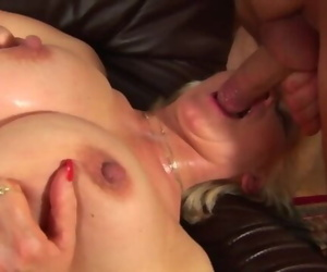Busty Step Mother Fisted by her Toy Fellow