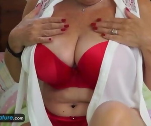 EuropeMaturE Grandma Provocative Solo Compilation