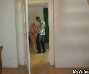 She Catches her Man and Mother Screwing together