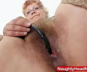 Woolly Grannie Woolly Pussy Closeups