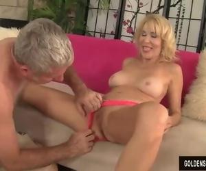Mature Woman Erica Lauren Liking Fat Cock