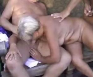 Granny Sucking Mild