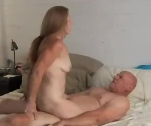 Horny old Spunker is Super Warm Screw and Likes the Taste..
