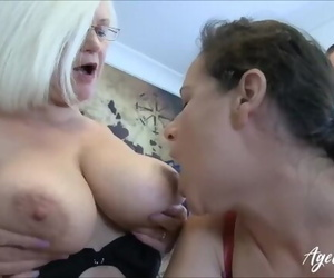 AgedLovE Lacey Starr Eva and Marcus Three way