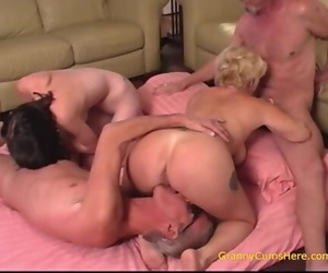 Granny Gushes us all how she Loves to Fuck too