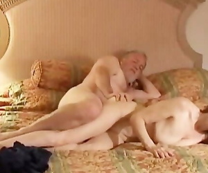 Crazy old Redhead is so Wild she Fucks the Cameraman