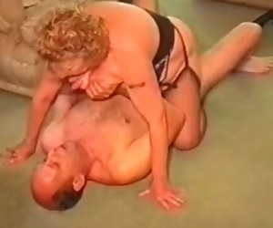 A Thick Granny has Hook-up with her Husband