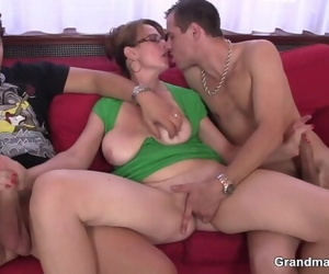 Warm Assfuck and Oral Mature Dp