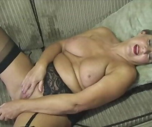 Mature April Screws a Faux-cock