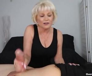 Granny POV Hand job