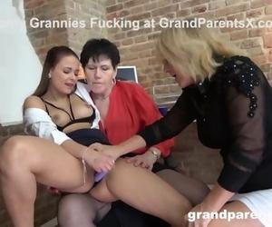 2 Lesbo Grannies Bossing me around