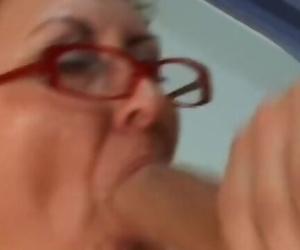 Granny Banged by Gaze