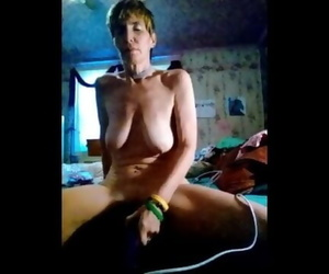 Saggy Tits Joanna 55 in Great Solo