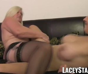 LACEYSTARR - Doctor GILF Heals Patient with Lesbian Climax