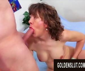 GoldenSlut - Older Chicks Display off their Cock Sucking..