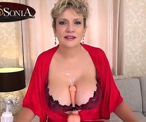 More Jerk off Commands from Buxomy Mature Lady Sonia