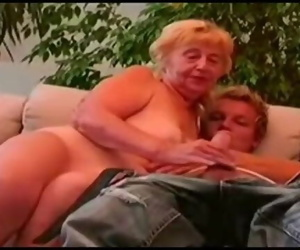 Very old Puckered Granny Fucking