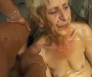 Ugly Granny Gets DP Jizz Pee Farts by Satyriasiss