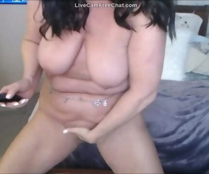 50 Yr old Big Mom Anal and Squirting Allegiance gone Wild