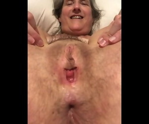 60 Year old Granny Mother Mummy Mature GILF Tied up and..