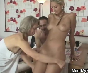 I just found her Riding Dads Cock