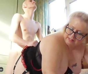 AgedLove Tenant is Paying Rent to Mature with his Big..