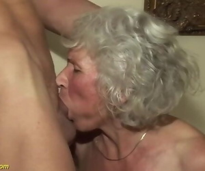 75 Years old Grandma first Pornography Movie