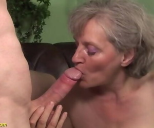Huge Cock for a 76 Years old Granny