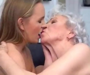 Insane Grandmother 85y and Insane Granddaughter 22y..